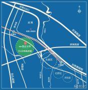 鸿坤原乡半岛交通图