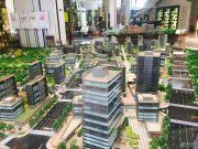 首开万科城市之光沙盘图