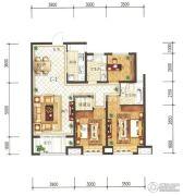 兰石豪布斯卡3室2厅0卫119平方米户型图
