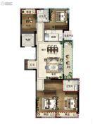 绿都・汀�m府4室2厅2卫0平方米户型图