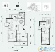 北辰香麓4室2厅2卫223平方米户型图