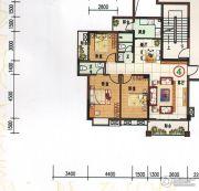 府前雅居苑3室2厅2卫109平方米户型图