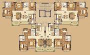 阳江恒大悦龙府3室2厅2卫121--110平方米户型图