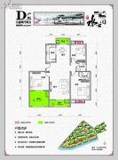 水云间3室2厅2卫155平方米户型图