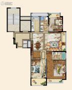 碧桂园德信・江山一品3室2厅2卫116平方米户型图