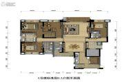 紫檀2期4室2厅4卫0平方米户型图