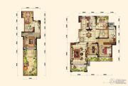 晟鑫康诗丹郡3室2厅2卫163平方米户型图
