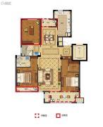 丽江半岛3室2厅2卫105--126平方米户型图