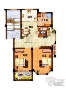 光明公寓2室2厅1卫79平方米户型图