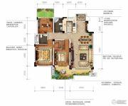 城投地产・智禧湾3室2厅2卫137平方米户型图