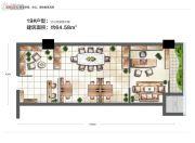 城置汇点0室0厅0卫64平方米户型图