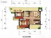 富地・朗城2室1厅1卫0平方米户型图