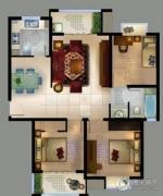 城置御水华庭3室2厅1卫108平方米户型图