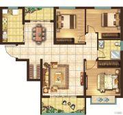 宏安莲城首府3室1厅1卫0平方米户型图