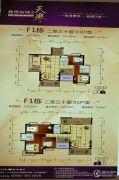 凤凰新城2室2厅2卫123--179平方米户型图