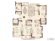 彩虹湖4室2厅2卫172平方米户型图