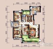 �L凰68院3室2厅2卫165平方米户型图