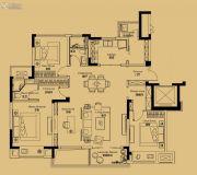绿地苏州ONE4室2厅2卫129平方米户型图