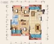 天立・学府华庭4室2厅2卫127平方米户型图