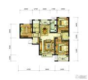 九宫馆3室2厅2卫111平方米户型图