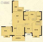 常德恒大华府4室2厅2卫148平方米户型图