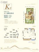 荣安林语春风3室2厅2卫100--114平方米户型图