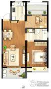 信达蓝尊1室1厅1卫0平方米户型图