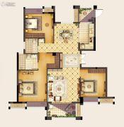 首开融侨・尚东区3室2厅2卫115平方米户型图