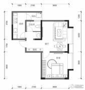 九洲跃进路19580室0厅0卫63平方米户型图