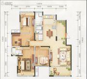 世贸广场4室2厅2卫169平方米户型图