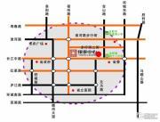 银泰中心交通图