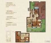 恒大悦珑湾3室2厅2卫144平方米户型图