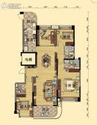 碧桂园・翡翠山4室2厅3卫182平方米户型图