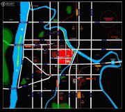 美联天骄城交通图