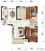 佳兆业水岸华府0室0厅0卫107平方米户型图