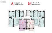 泰华・学府公寓48--112平方米户型图
