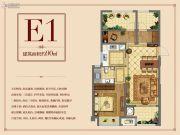 正荣华府2室2厅1卫90平方米户型图