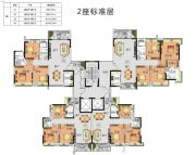 锦绣一方3室2厅2卫83--145平方米户型图