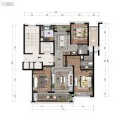 景瑞・天赋3室2厅2卫0平方米户型图