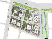 中国铁建・环球中心规划图