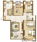 融侨华府3室2厅2卫0平方米户型图