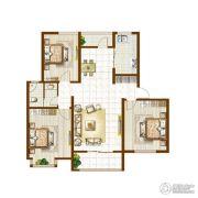 银河湾・3号院3室2厅1卫0平方米户型图