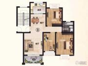 中熙凤凰城3室2厅1卫95--102平方米户型图