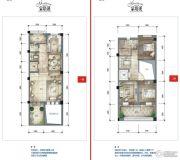公园19035室3厅4卫224平方米户型图