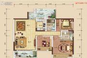 中建・伴山壹号4室2厅2卫110平方米户型图