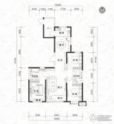当代MOMA沿湖城3室2厅2卫130平方米户型图