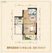 龙泉绿苑1室1厅1卫0平方米户型图