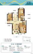 世茂御海墅3室2厅2卫0平方米户型图
