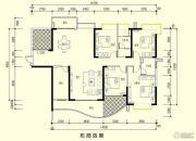 智弘银城绿洲3室2厅2卫170平方米户型图