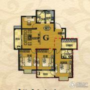 芙蓉山庄4室2厅2卫151平方米户型图